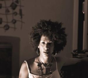 Cherry Harrison Photography self portrait image formally cheekyangels photocherry afro