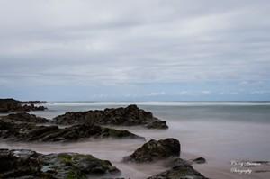 istral beach, newquay, cornwall, seascape, art photography, england coast