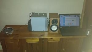 speakerphotography hifi tones soundcymatics experiment